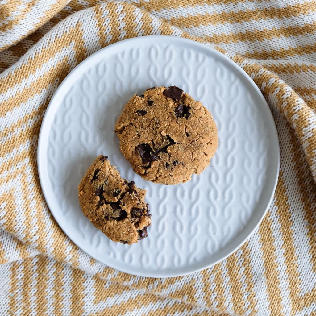 peanut butter choc chip cookies