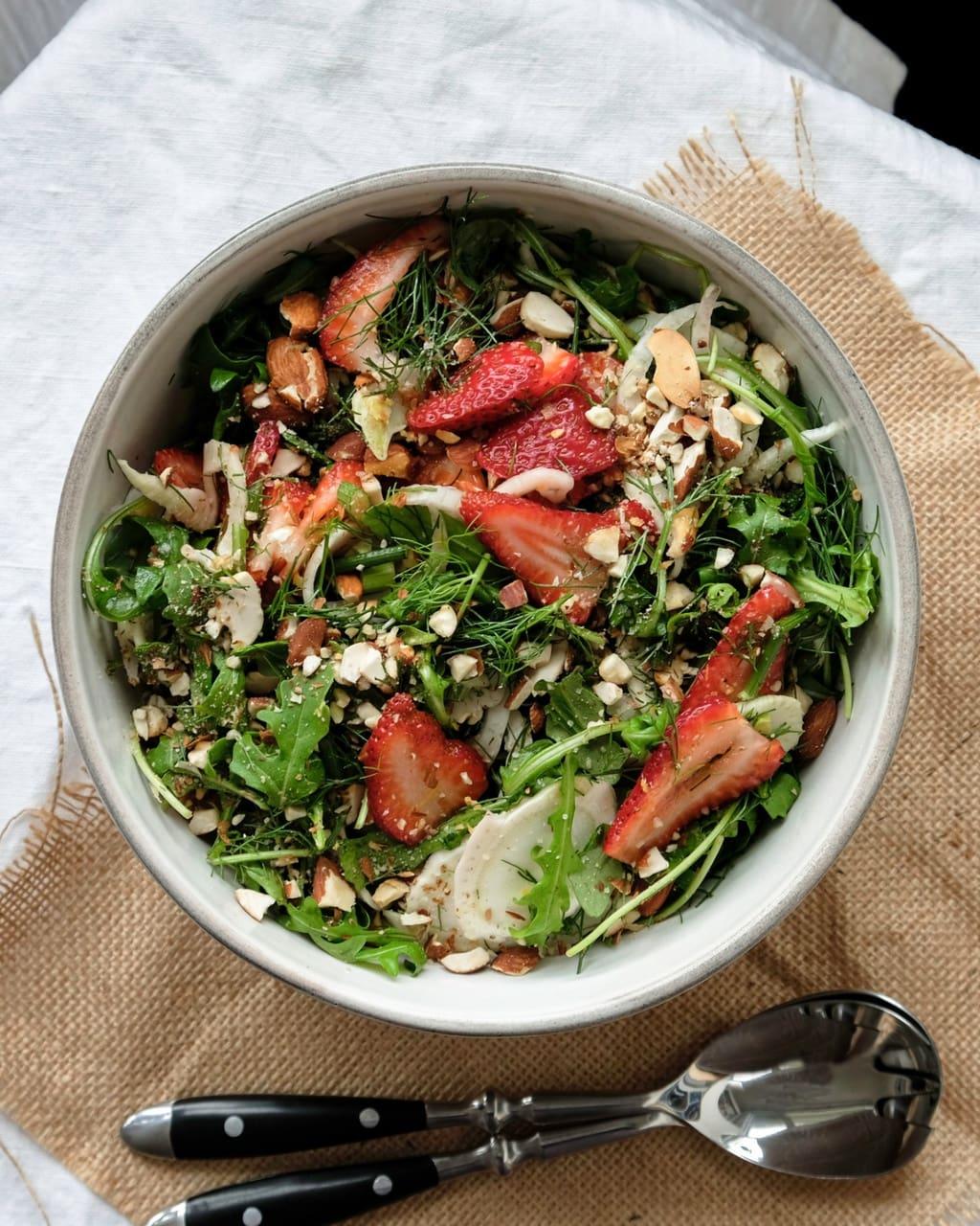 Strawberry Fennel Salad