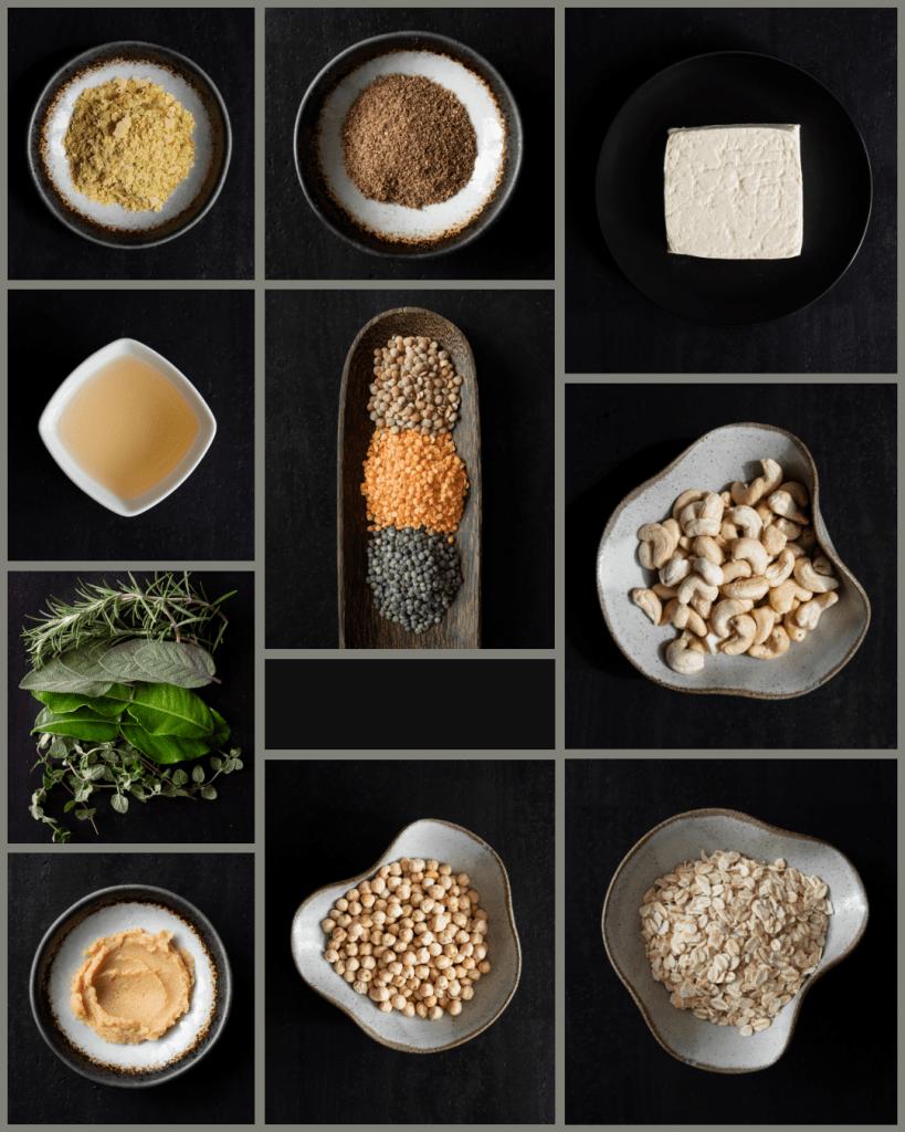 vegan essential ingredients