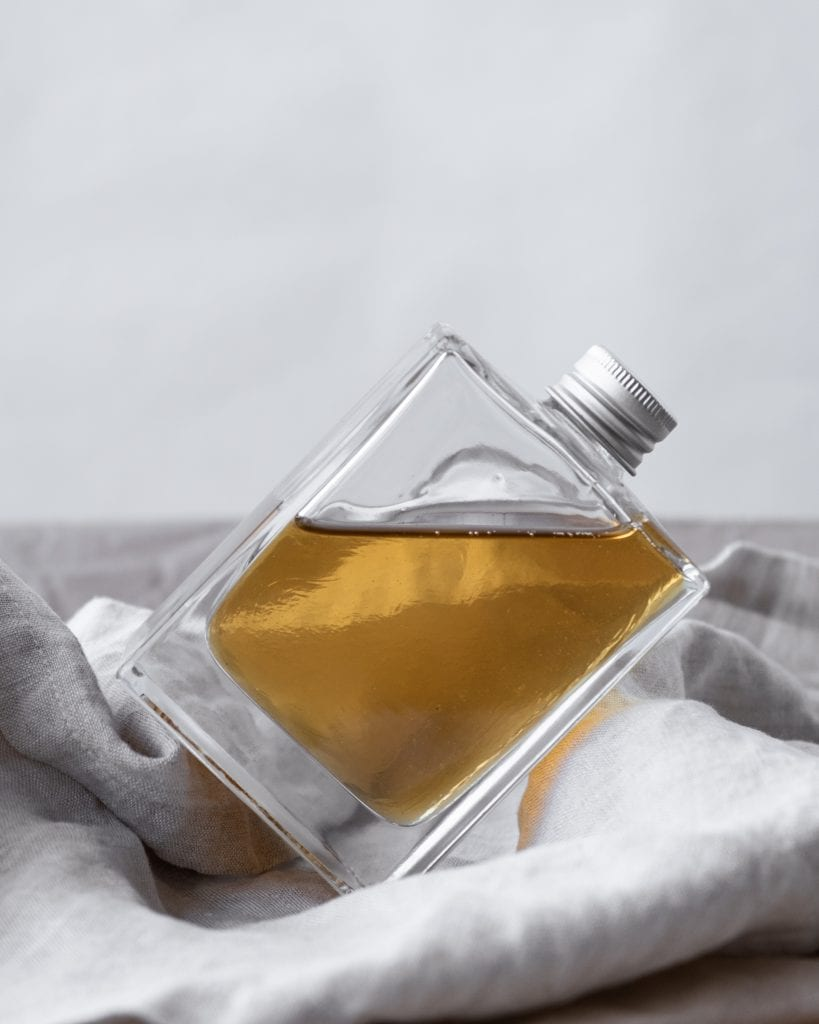 simple syrup on angle